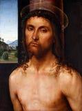 Christus bekroonde met doornen stock foto