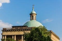 Christus de Kathedraal van de Koning in Katowice Royalty-vrije Stock Afbeeldingen