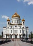 Christus de Kathedraal van de Verlosser Stock Afbeelding