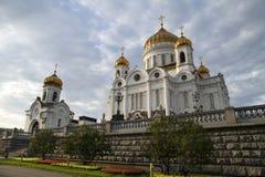 Christus de Kathedraal van de Verlosser, Moskou, Rusland. Stock Fotografie