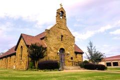 Christus de Koning Catholic Church in Fort Smith, Arkansas stock afbeeldingen