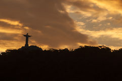 Christus de Verlosser Stock Foto