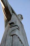 Christus de Verlosser (Cristo Redentor) Rio, Brazilië Stock Foto