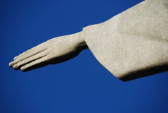 Christus de Verlosser (Cristo Redentor) Rio, Brazilië Stock Afbeeldingen