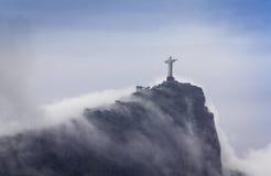 Christus de Verlosser, Rio de Janeiro, Brazilië Royalty-vrije Stock Foto