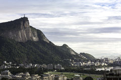 Christus de Verlosser, Rio de Janeiro, Brazilië Stock Foto's