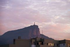 Christus de Verlosser, Rio de Janeiro, Brazilië Stock Foto