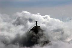 Christus de Verlosser - standbeeld Stock Fotografie