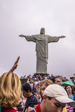 Christus der Erlöser - Rio de Janeiro - Brasilien Stockfotografie