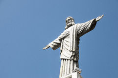 Christus die Redeemerstatue Lizenzfreies Stockbild