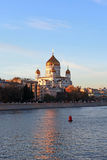 Christus die Retter-Kathedrale. Moskau, Russland Stockbild
