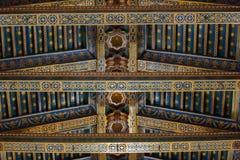 Christus-Fresko innerhalb Monreale-Kathedrale nahe Palermo Stockfotos
