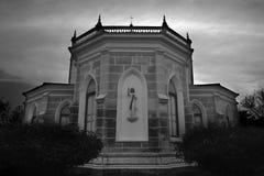Christus-Kirche, historische Christus-Kirche auf dem blauer Himmel backgroun Lizenzfreie Stockbilder