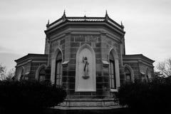 Christus-Kirche, historische Christus-Kirche auf dem blauer Himmel backgroun Lizenzfreies Stockfoto