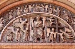 Christus in Majesteit stock afbeeldingen