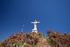 Christus-Monument, Garajau, Madeira Lizenzfreie Stockbilder