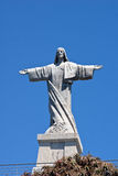Christus-Monument, Garajau, Madeira Lizenzfreies Stockbild