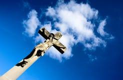 Christus op het kruis Royalty-vrije Stock Afbeelding