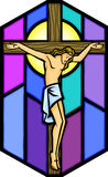 Christus op het Kruis Royalty-vrije Stock Afbeeldingen
