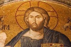 Christus Pantocrator in Chora-Kerk Royalty-vrije Stock Fotografie