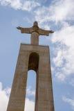 Christus Rei Statue  in Lisbon, Portugal Stock Images