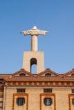 Christus Rei Statue in Lisbon, Portugal Stock Image