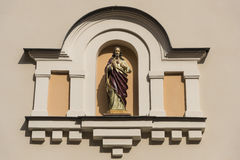 Christus-Verzierung Riga Stockfotografie
