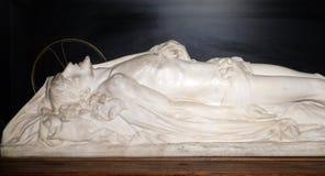 Christus in Zijn graf royalty-vrije stock foto