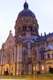 Christuskirche在美因法在德国 免版税库存图片