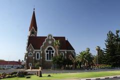 Christuskirche em Windhoek, Namíbia Fotografia de Stock Royalty Free
