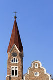 Christuskirche, Lutheran Church In Windhoek Royalty Free Stock Photo