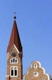 Christuskirche, Lutheran church in Windhoek Royalty Free Stock Photo