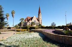 christuskirche windhoek Fotografering för Bildbyråer