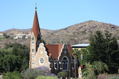 Christuskirche in Windhoek royalty free stock images