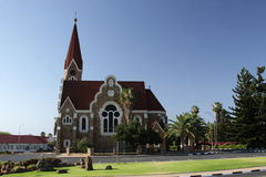 Christuskirche in Windhoek, Namibia Royalty Free Stock Photography