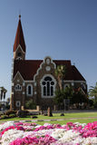 Christuskirche in Windhoek, Namibia. The Christ Church, a historic landmark in Windhoek, Namibia royalty free stock photo