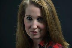 Christy Devoe Studio-portret Royalty-vrije Stock Fotografie