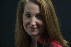 Christy Devoe Studio-portret Stock Afbeeldingen