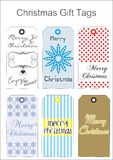 Chritmas Gift Tags Royalty Free Stock Photo