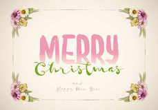 Chritmas Message Stock Images