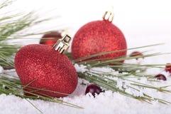 Chritmas Ornament Closeup Stock Photos