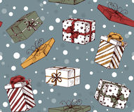 Chritmas pattern Royalty Free Stock Image