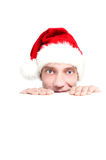 Chritmas red hat Royalty Free Stock Images