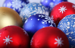 Chritsmas balls Stock Image
