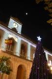 Chritsmas i Seville Arkivfoto