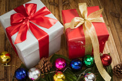 Chritsmas present Royalty Free Stock Image