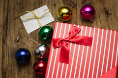 Chritsmas present Royalty Free Stock Photography