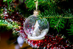 Chriustmas and New Year home indoor decoration Royalty Free Stock Photography