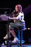 Chriz Tong bij Promenade openluchttheater Royalty-vrije Stock Foto