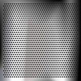 Chrom-überzogenes Blech lizenzfreie abbildung